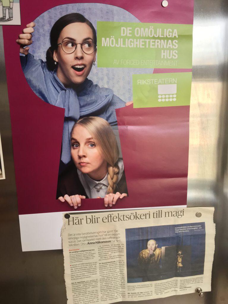 Fridge poster
